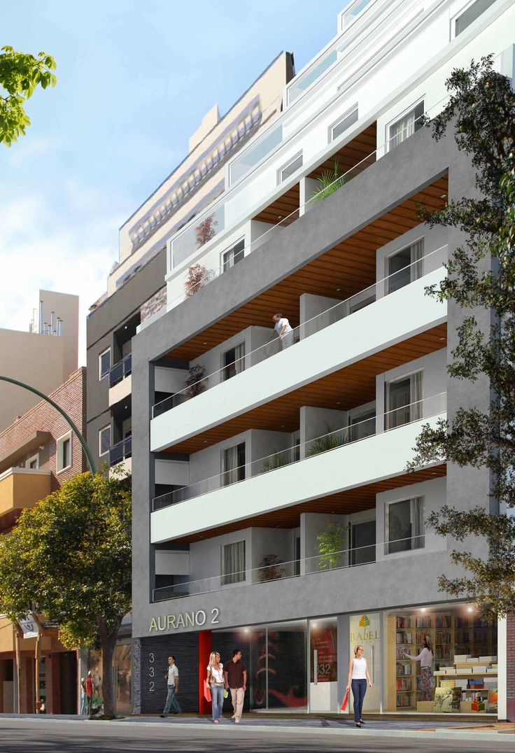 Render fachada torre aurano 2 en barrio general paz for Architectural concepts for apartments pdf