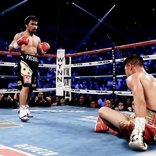 Round 2 of #PacVargas  Image: Top Rank #OplusUSA #lasvegas #boxing