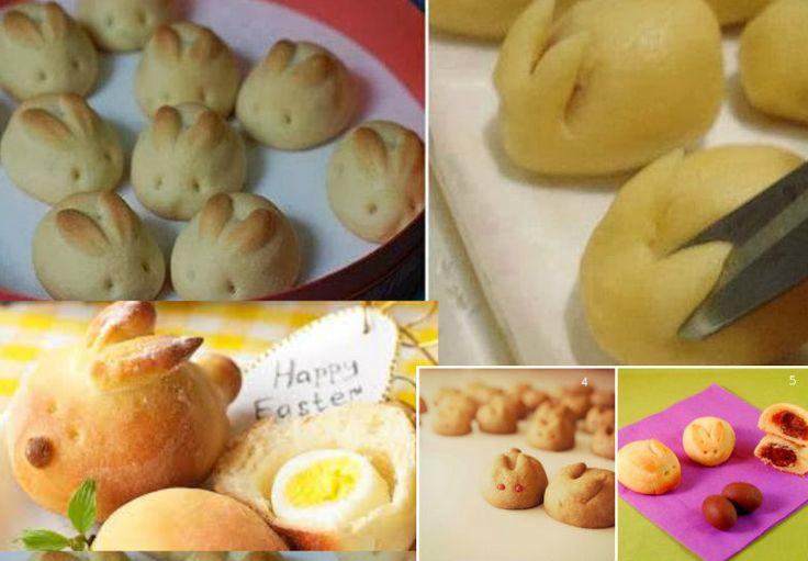 Coniglietti ripieni per una dolce Pasqua (Dolci o Salati)
