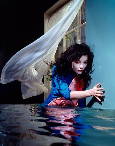 2 beautiful things about this picture:  David LaChapelle and his impeccable vision, and Bjork-F*@#ING PERFECTION <3