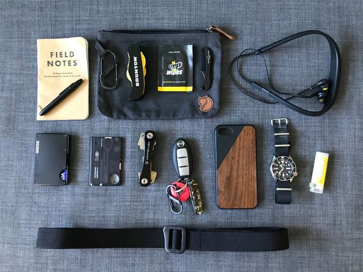 This is what i carry with me on a day to day basis when going to work or riding my bike in Copenhagen. I choose to go with well known classics like the Seiko SKX007, Fisher Space pen and the Ridge wallet because i know i can depend on them for years to come.