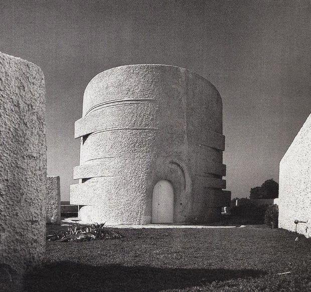 'Villa Califfa',  Santa Marinella, Italy 1954-1957 by Luigi Moretti.
