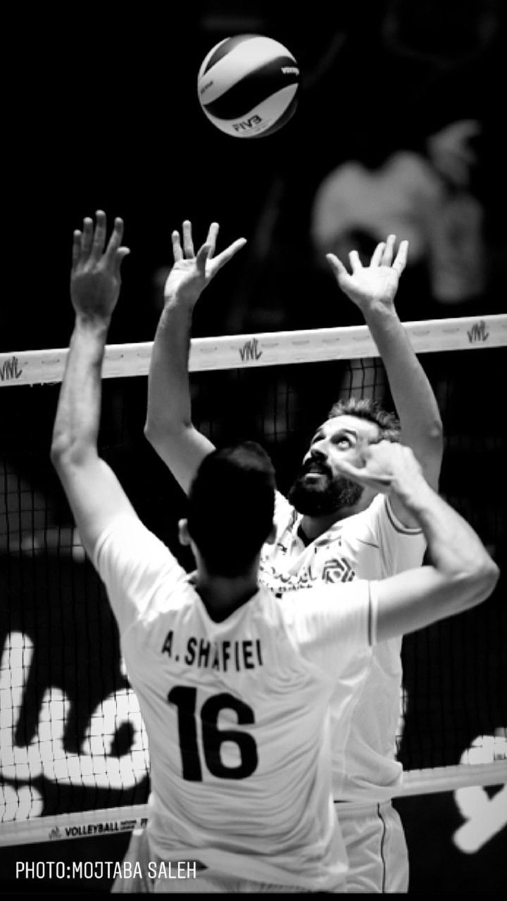 Saeed Marouf Ali Shafie Volleyball Players Volleyball Photos Volleyball Pictures