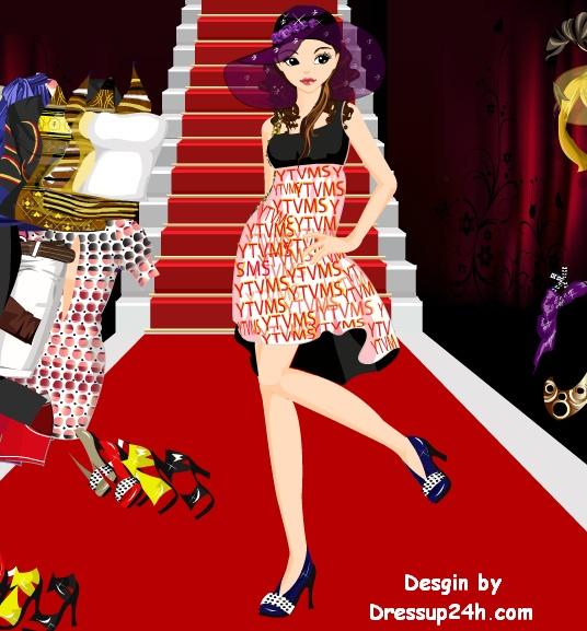 Fashion games catwalk dress up