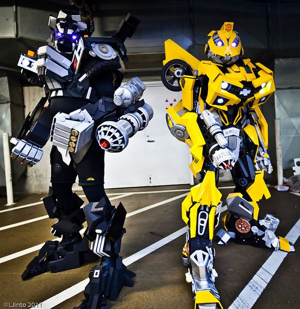 These Transformers Are Actually Cosplayers