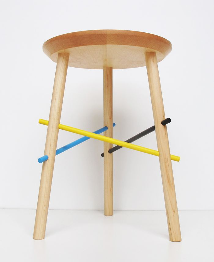 Inspired By The Childhood Game Pick Up Sticks, The Pickup Stool Puts A Fun  Twist. Furniture MakersFurniture ...