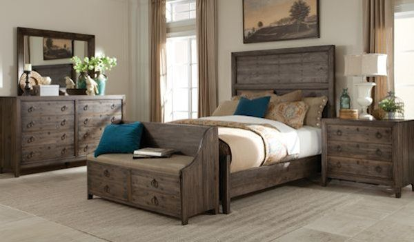 New solid maple bedroom by Durham Furniture The Distillery collection