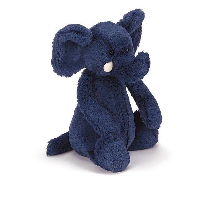Jellycat: Bashful Elephant - Blue ~ Medium