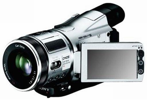 デジタルHDビデオカメラレコーダー HANDYCAM (シルバー) [HDR-HC1(S)] (状態:箱欠品)