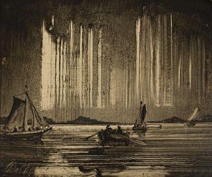 Peder Balke (1804-1887): Nordlys