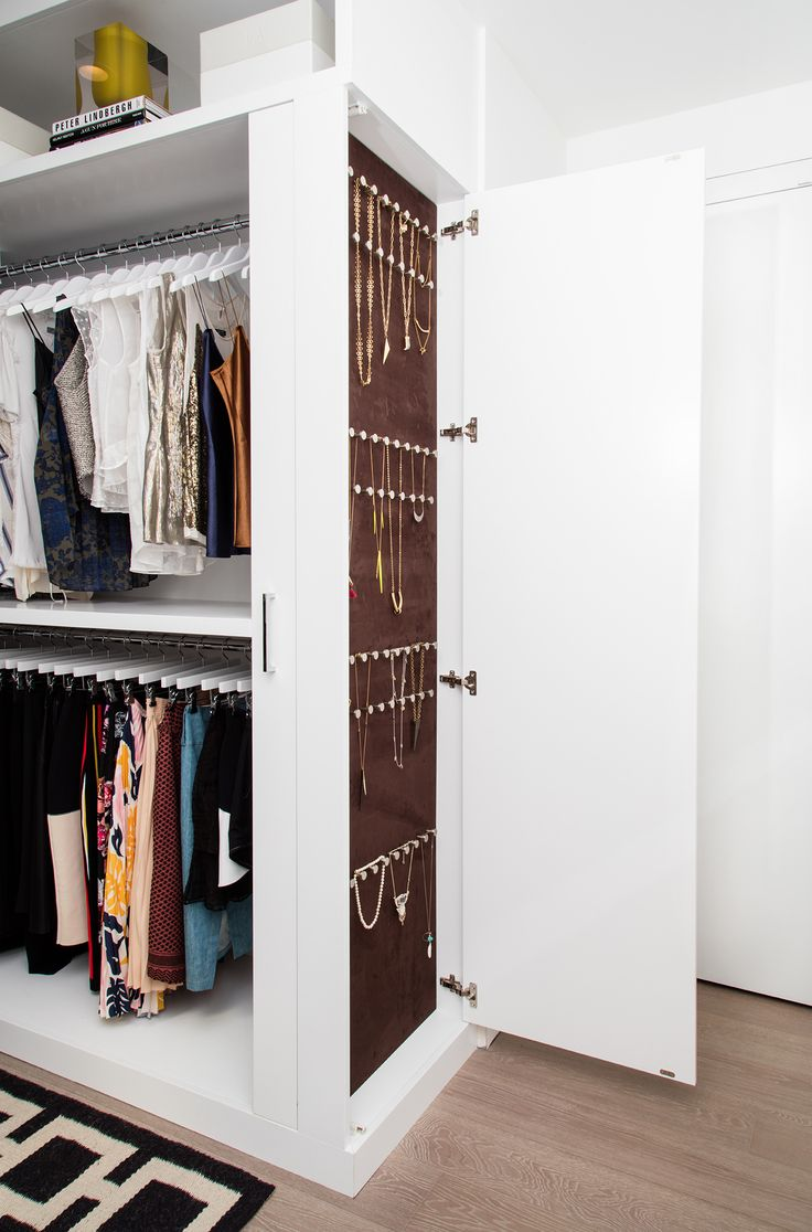 Go Inside Tyra Banks's Immaculate Closet (and Get Some Tips from Her Organizing Pro) - THE PROS AND CONS OF OPEN SHELVING  from InStyle.com