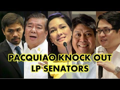 Pacquiao Knock Out Liberal Party Senators