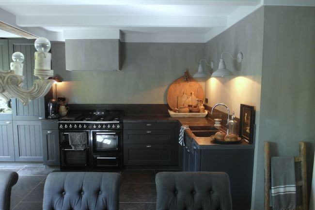 Eiken Keuken Verven Thuis : 25+ best ideas about Granieten Aanrecht op Pinterest
