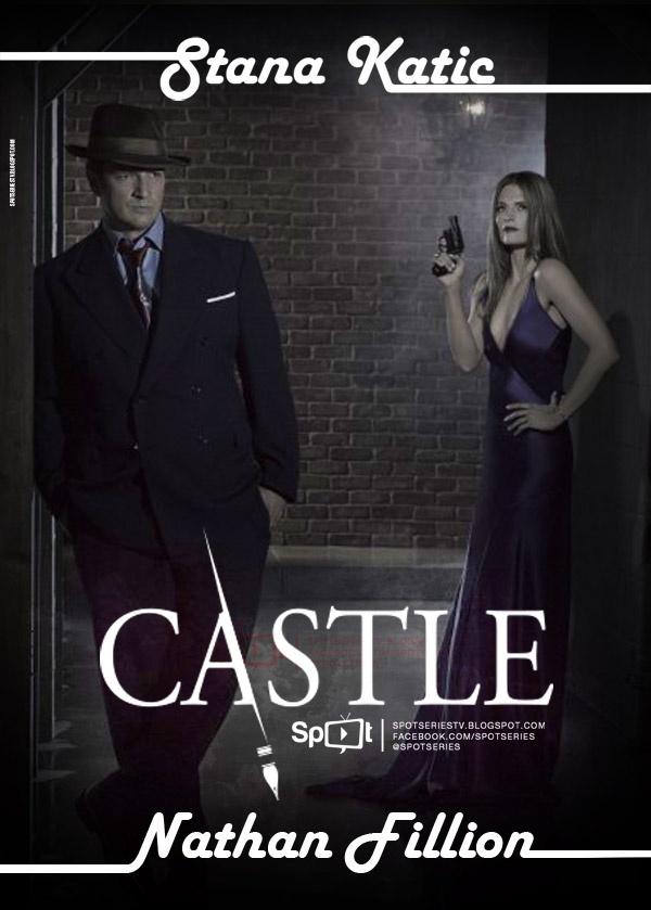Castle, Caskett, Richard Castle, Kate Beckett, Nathan Fillion, Stana Katic, Rick Castle, ABC, Series, TV: http://spotseriestv.blogspot.com/