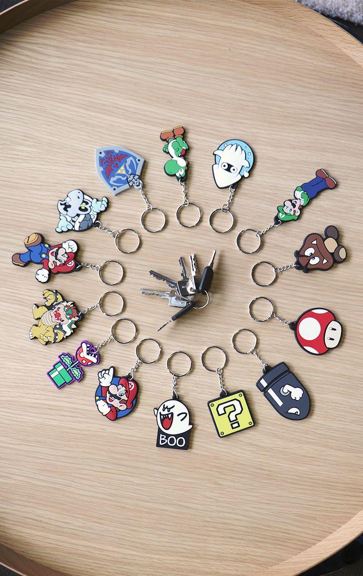 Nintendo Keyrings