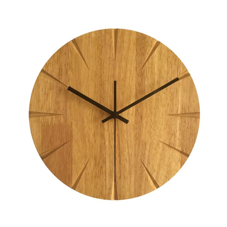 Silent Wooden Wall Clock //Price: $83.70 & FREE Shipping //     #hashtag1