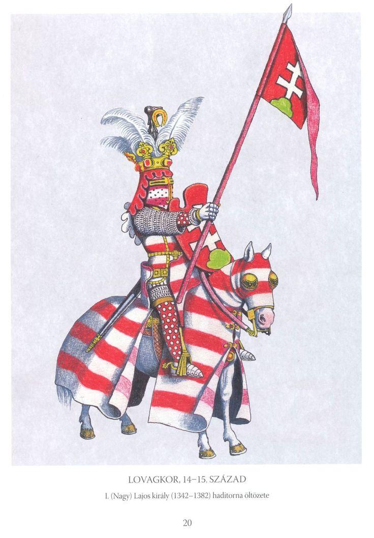 Lovagkor 14-15 Szazad Hungarian knight