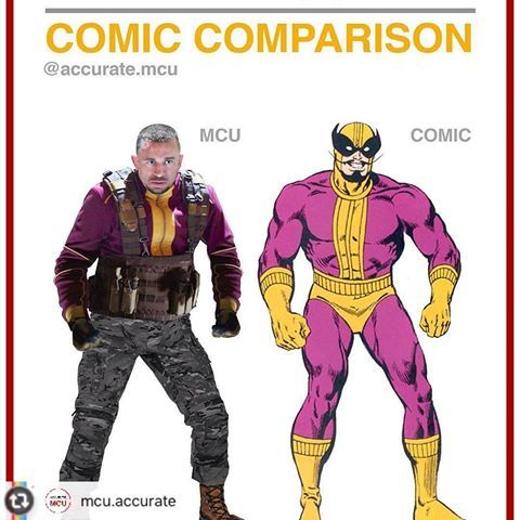 Comic Comparison Batroc