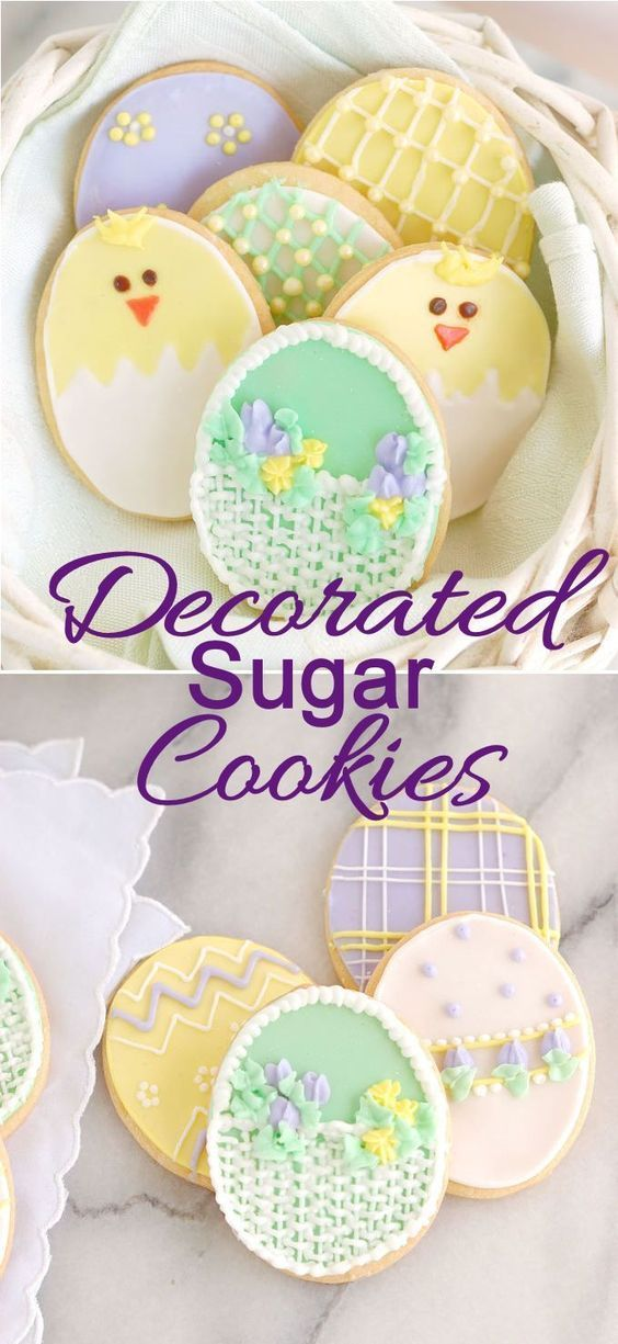 Decorated Sugar Cookies are perfect for any occasion of holiday. Get a easy sugar cookie recipe and a recipe for royal icing.