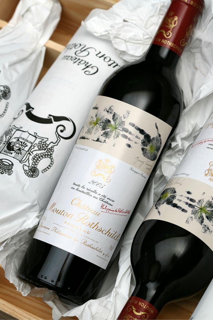 Château Mouton Rothschild 2005 - Vin Rouge de Pauillac Robert Parker: 99+ #Bordeaux #Pauillac (©Photo Millésima)
