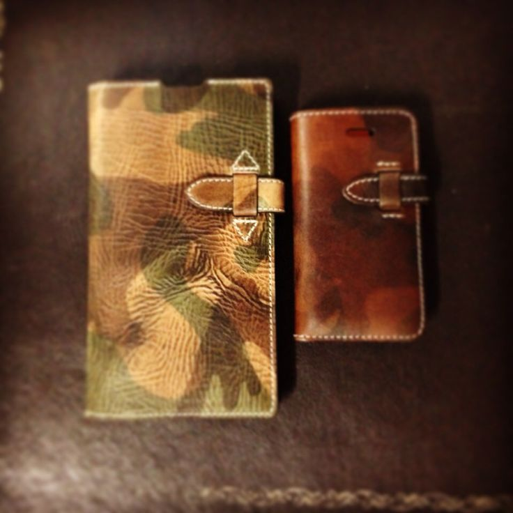 Camouflage phone case/wallet from Custom Republic.