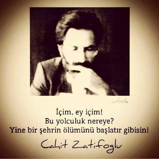 """""""İçim büyük sabırla haşlandı''  #zarifoğlu"""