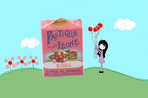 Ribes. Pastiglie Leone.