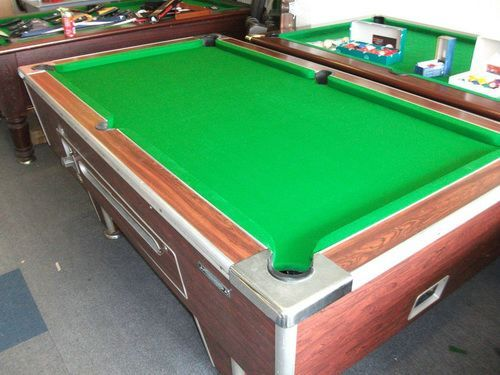 7 Pool Tables Dimension