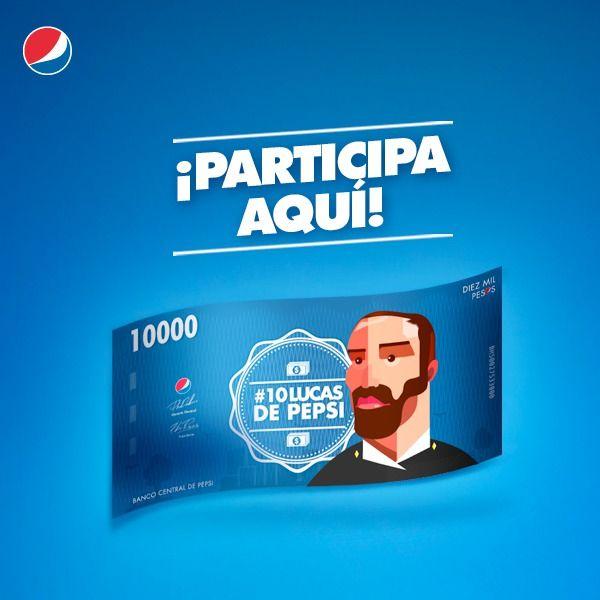 Concurso Pepsi – Gana $10.000 y latas de bebidas   Konkurs Chile Concursos