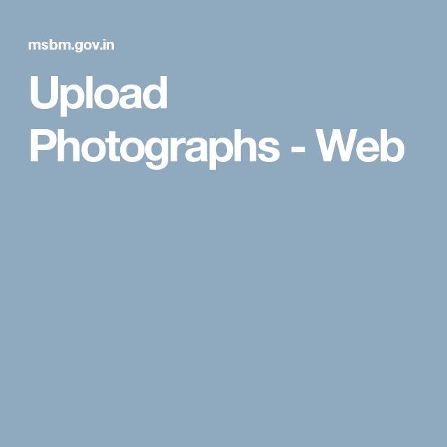 Upload Photographs - Web