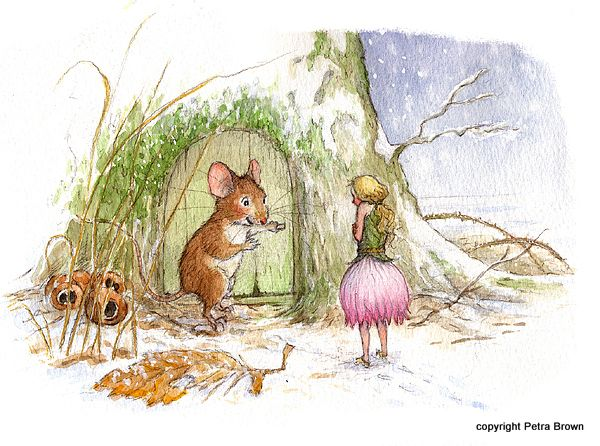 Thumbelina - Petra Brown, Children's Book Illustrator