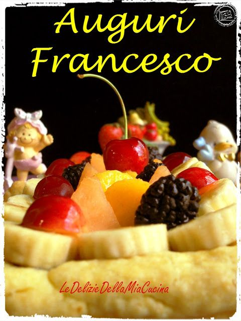 Le Delizie della Mia Cucina: Crostata 1 per Francesco