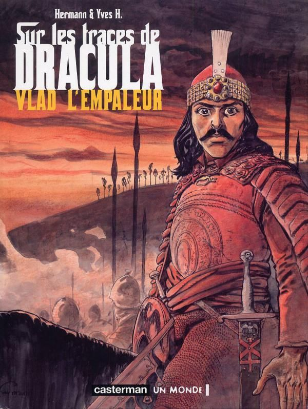 Vlad l'Empaleur - (Hermann / H Yves) - Aventure historique [TRIBULLES, une librairie du réseau Canal BD]