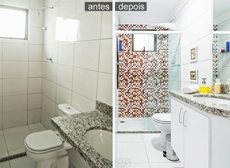 Banheiro decorado com adesivos fica pronto em 24 horas <<<Dá pra ficar mais barato do que o dito na matéria>>>