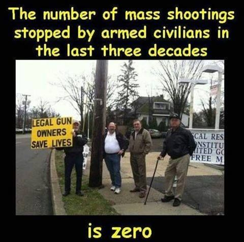 guns don't make us safer they just kill more Americans each year!