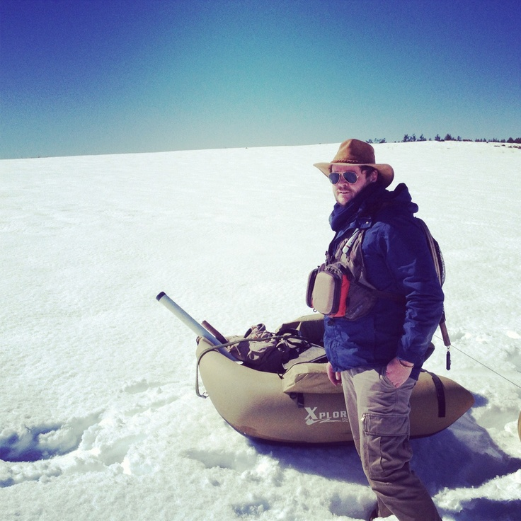 Snow fishing in Nottingham Road, September 2012. Can you believe this is South Africa? Come to the Midlands Meander for a sometimes-snowy escape: www.midlandsmeander.co.za