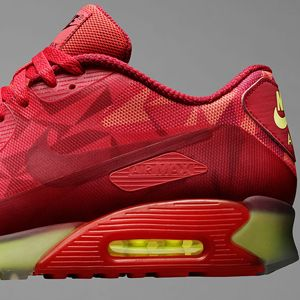 nike air max 90 ice gym red uke