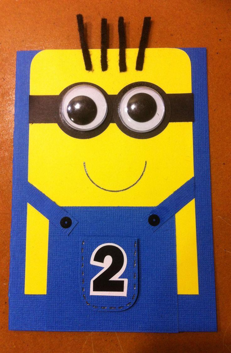127 Best Minion Cards Etc Images On Pinterest Birthdays Kids