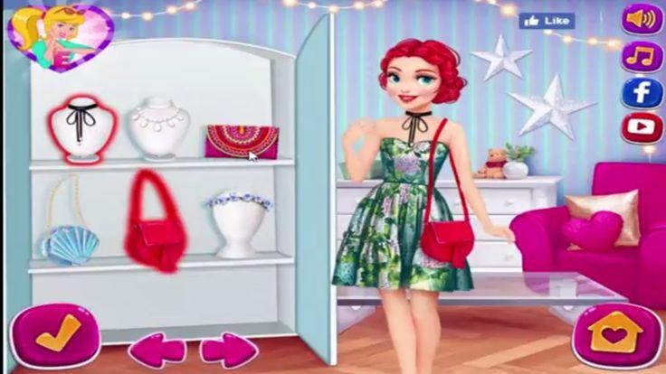 Disney Princess games Rapunzel And Ariel Double डिज्नी राजकुमारी खेल Rap...