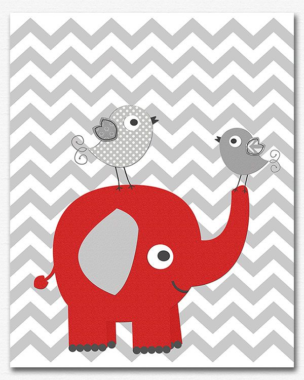 https://www.etsy.com/listing/212273784/red-and-grey-elephant-nursery-art-print?ref=related-1