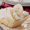 Banana and toffee-caramel pieCream Pies, Easy Banoffee, Banoffee Cream, Luscious Pies, Easy Shortcuts, Yummy Pies, Banoffee Pies, Banoffe Pies, Recipe Pies