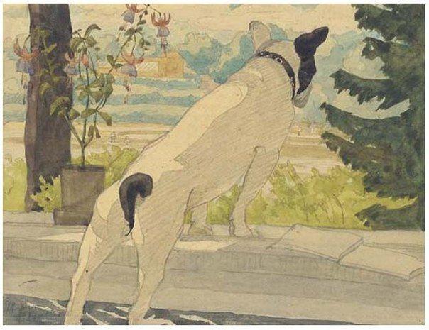 Les 265 meilleures images du tableau animal paintings sur - Peinture grey wash ...