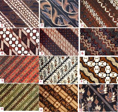 batik parang's motif
