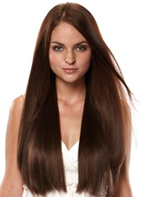 Hair Extensions.com :: The Hair Professionals :: Clip In Extensions :: Length :: 20 easiXtend Elite Remy Human Hair Clip In Extensions (8 pcs) by easihair