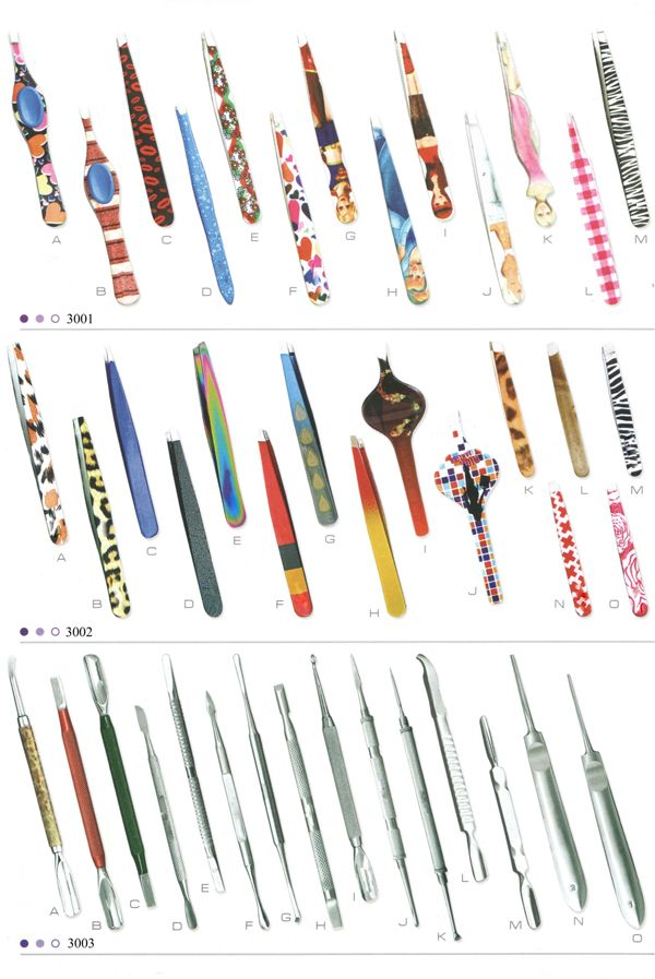 Beauty Instruments Tweezers We are manufacturers of all kind