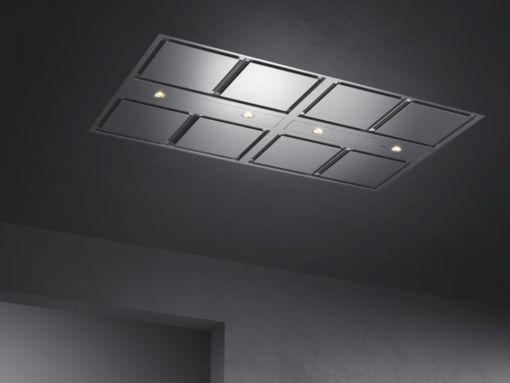 Gaggenau's modular ceiling ventilation system is highly flexible, while its quietness and minimalist design make it satisfyingly unobtrusive.