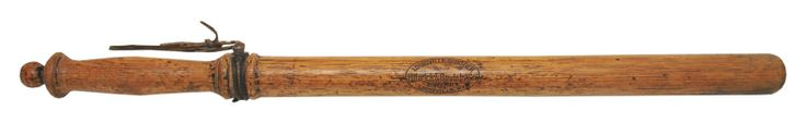 "Hillerich & Bradsby (aka ""Louisville Slugger"") Nightstick from the Polo Grounds"