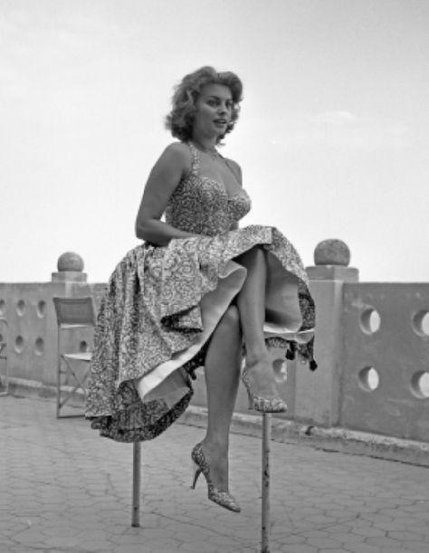 Sophia Loren in Venice
