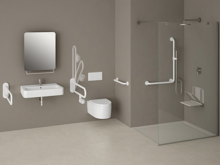 Folding grab bar with paper holder 250 | Grab bar by Provex Industrie