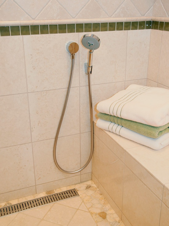 40 best Curbless Shower Ideas images on Pinterest   Bathrooms ...